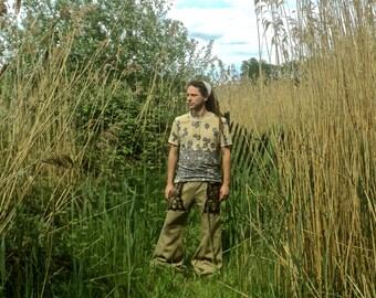 pick color & size: wide legged men celtic tribal  pants