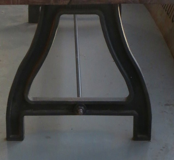 Items Similar To Cast Iron Base For Table: 2 Supports Plus