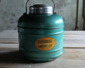 Vintage Plymouth Light Weight Thermic Jug