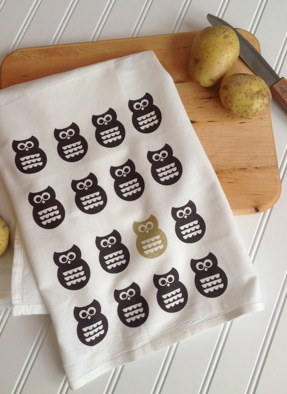 Owl Tea Towel | KitchTowels