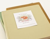 Personalized Bookplates, Woodland Baby Shower Bookplate // BABY FOX