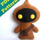 PDF PATTERN - Star Wars JAWA Plush Pattern (Digital Download)