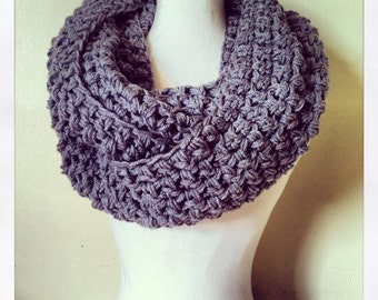 The Simple Series: The Grey Infinity Scarf