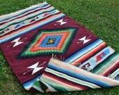 1970s Southwestern Woven Rug
