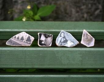 Original Photo Stones Set of Two