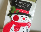 Set of Eight Unused Hallmark Holiday Party Invitiations - Unopened, Christmas Party