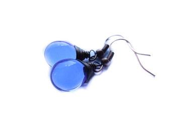 Blue Sky Drops Earrings, Blue Dangle Earrings, Sky Drops, Blue Drop Earrings