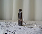Vintage Buffalo Horn Whistle Germany Hand Carved Whistle Boys Whistle Bone Whistle vintage 1950s