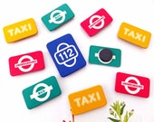 Travel Fridge Magnets, Small magnets, Message board magnets
