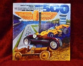 CRAZY CUPID SALE Great Moments from the Indy 500 - 1911 to 1974  - Vintage Vinyl Record Album