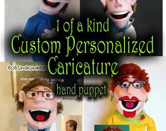 Custom Personalized Caricature Puppet