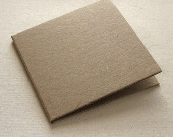 100 Kraft CD Cases 2 Pocket Folio - DVD Wedding Favor, Photography Boutique Packaging - Recycled , DIY