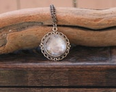 Wear the Moon *Reserved for Racheal* - Watercolor Pendant Necklace