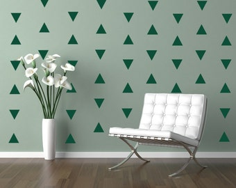 Triangles Decal Geometric Vinyl Decal Wall Art Baby Boy or Girl Nursery