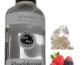 The Right Spot™ Edible Massage Oil - Dingleberries & Cum (berry cream) Natural Vegan water based sensual warming Romantic gift