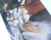 Vintage Ballet Dancers Bookmark Vintage Art Print Bookmark Degas Bookmark Impressionist Artwork Fine Art Quality Artworks Bookmark Artprint