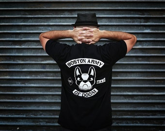 Boston Army of Doom Shirt / Available in S-M-L-XL-2XL