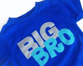 Big Brother Shirt - Royal Blue, Turquoise, Grey