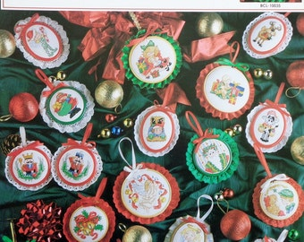 Tree Full Of CHRISTMAS ORNAMENTS By True Colors - Counted Cross Stitch Pattern Chart