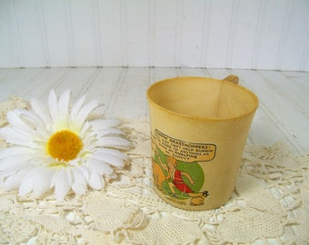 Little Orphan Annie & Sandy Comic Cup Antique Catalin Celluloid Early Plastic TransferWare BeetleWare Ovaltine Promotional  Advertising Mug