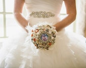 Aisle be With You Button Brooch & Jewellery Memory Keepsake Wedding Bouquet