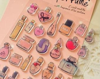 Perfume Deco Stickers (1 sheet)