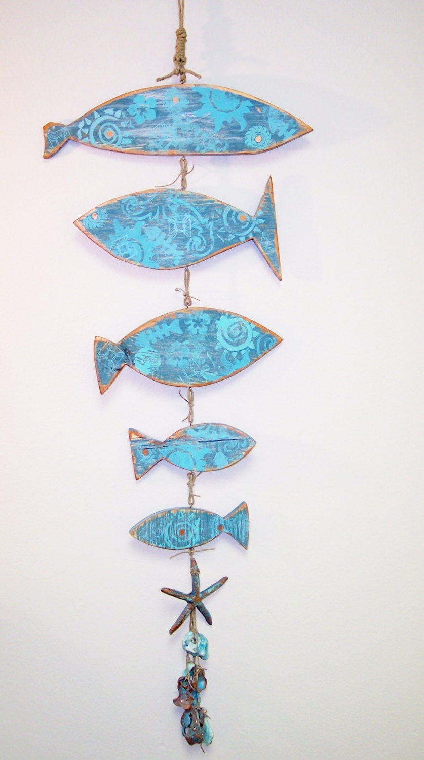 Chandeliers pendant lights for Fish wall hanging
