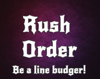 TotTude Rush Order Fee