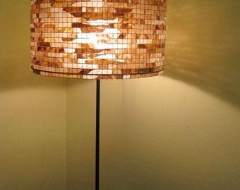 Lamp Lighting Lamp Floor Lighting Table Lamp Drum Lampshade Lampada Coffee Filter Art