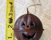 Rusty Bell, Pumpkin Bell, 65 mm, Rusty Jingle Bell