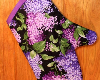 Purple Lilacs Oven Mitt