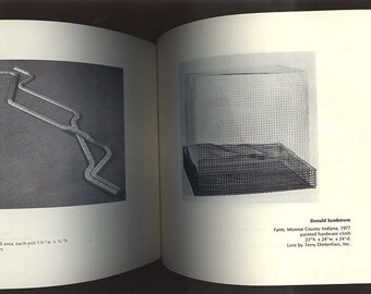 A Scarce Vintage Art Exhibition Catalog of Conceptual Sculpture CONDENSED SPACE 1977 Nassau County Museum, Roslyn, NY
