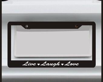 Paw Print License Plate Frame Funny Custom By Stickerwarehouse