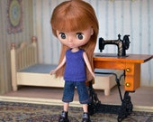 Doll clothes set for Petite Blythe, Little Pullip, Little Dal