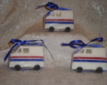 First Class Soap, Mail Truck Soap, letter carrier gift, postal worker present, mailman gift