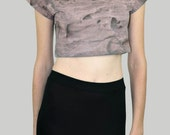 SALE - Jordan Crop Top - desert print