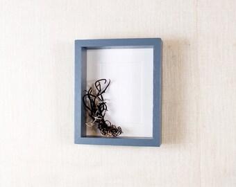 Deep Picture Frame 11x14 - Gray, Grey - Deep Frame, Open Box Frame
