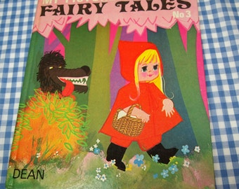my picture book of fairy tales no. 3,  vintage 1974 children's book