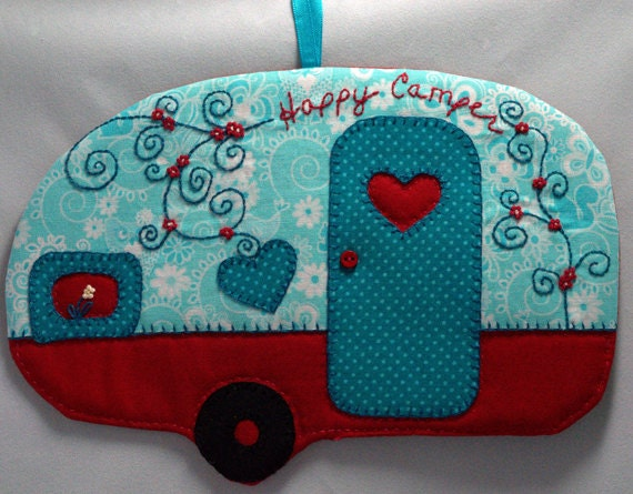 Happy Camper 21 Mug Rug