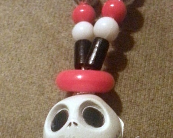 Jack Skellington from The Nightmare Before Christmas Kandi Necklace