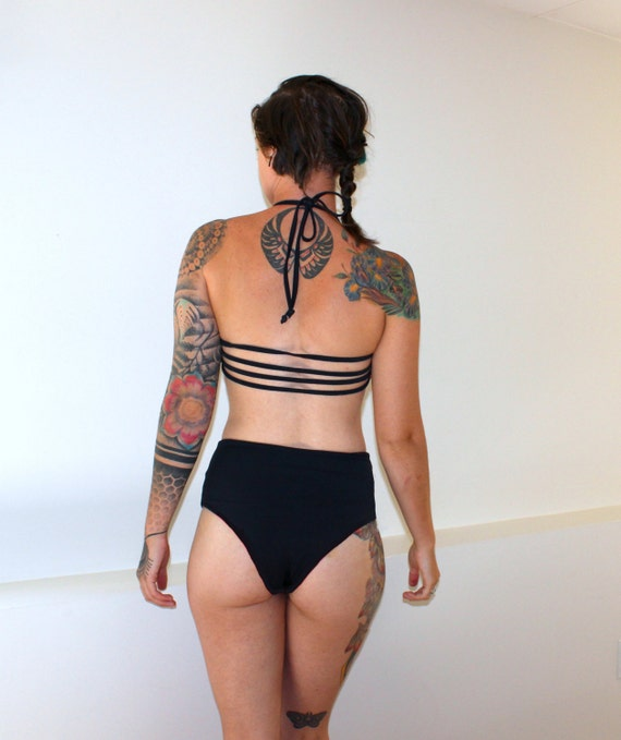 Take it back with high waisted bikini bottoms from rabbetedh.ga Shop retro bikini bottoms in essential solids and custom prints.