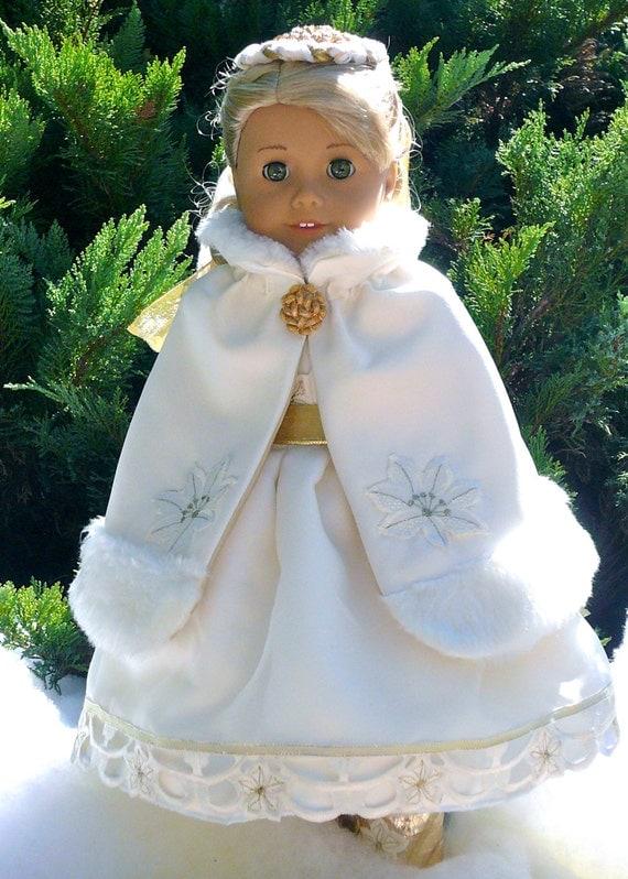 American girl 18 inch doll clothes calyxa s christmas princess dress