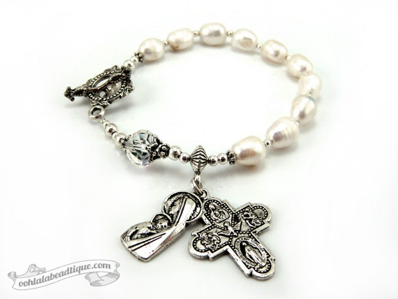 1 decade rosary bracelet how to say it