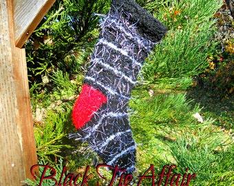 Black Tie Affair, Knit Christmas Stockings, Wedding Decor