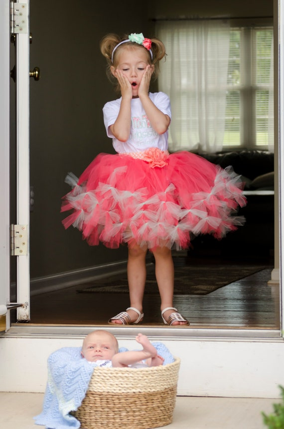 foto de Items similar to Big Sister Tutu Big Sister Dress Big
