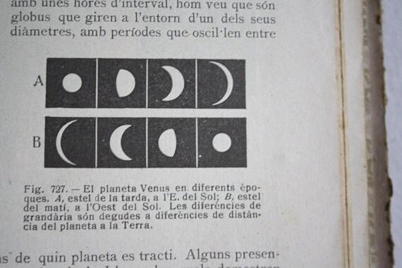 NATURAL SCIENCES Vintage book