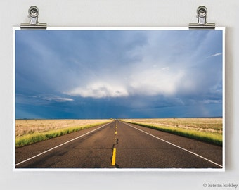 West Texas Road Travel Fine Art Photography