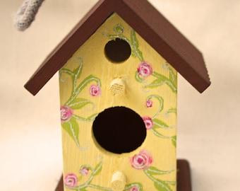 Chintz Bird House Decoration