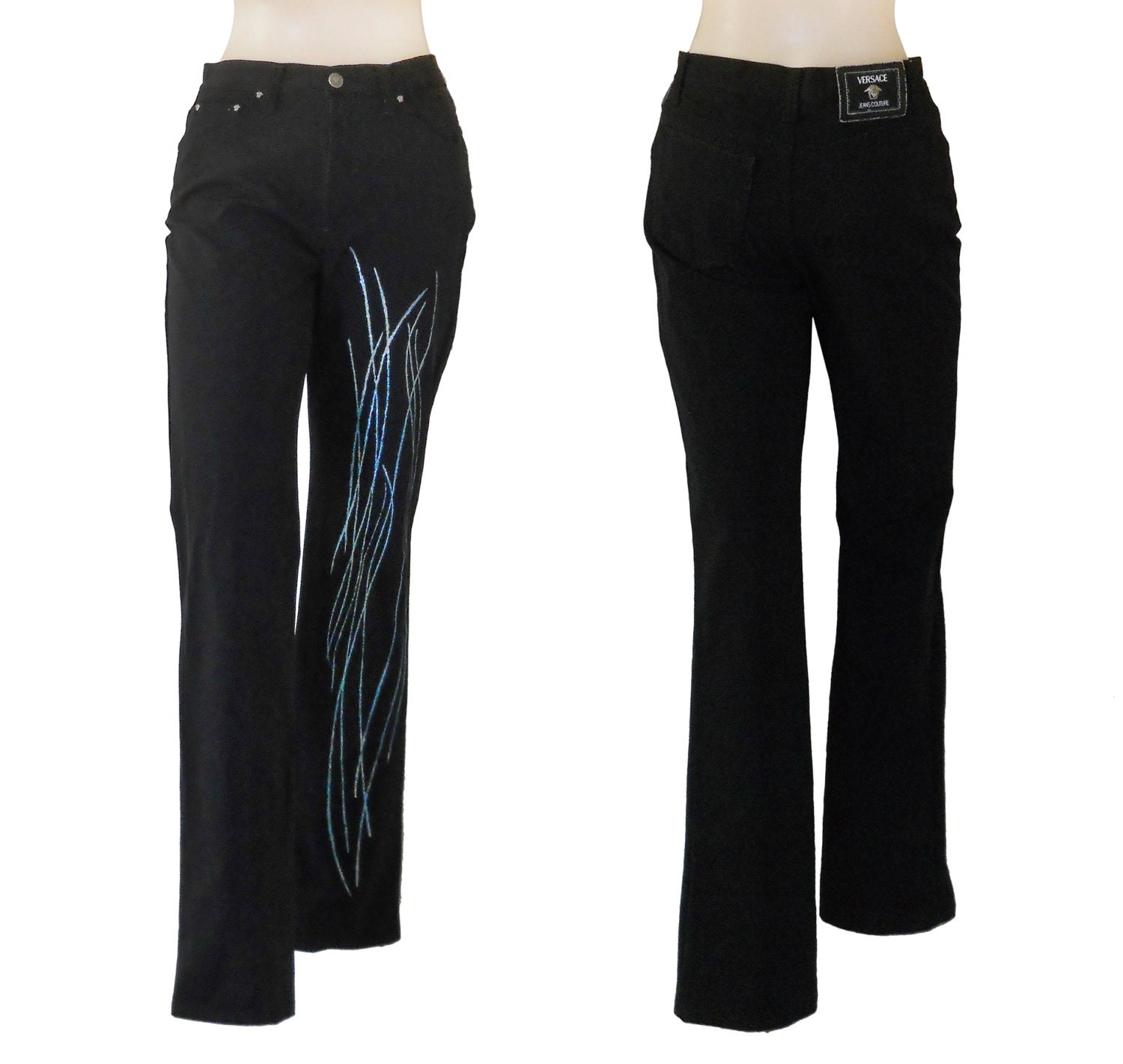 Beautiful Versace Pants Amp Jeans For Women  US Online Store