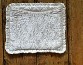 Vintage embroidered handkerchief cases / English /  40s / cottage chic / country / bedroom  /  Dolly Topsy Etsy UK